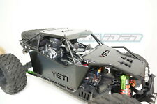Axial YETI XL 90038 90032 Stainless Steel Front+Side+Roof Body Panel Armor BLACK