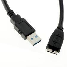 Datenkabel Micro USB 3.0 für Hitachi Touro Mobile MX3 schwarz Kabel 8007985