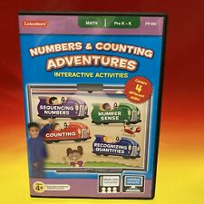 Lakeshore PC/Mac Numbers & Counting Adventures 4 Math Skills Ages 4+ Pre K New