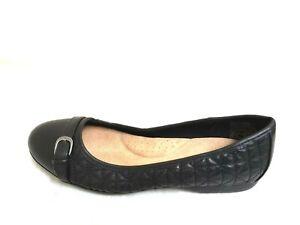 NEW!Women's CROFT & BARROW Drawbridge Slip-On (Wide)- Black 80E