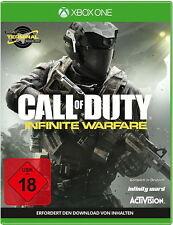 Call Of Duty: Infinite Warfare - Xbox One Terminal Bonus NEU OVP
