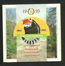 BELGIË - MUNTENSET 1993 - ZOO ANTWERPEN  - set in blister