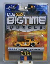 "Jada Toys Die Cast ""Big Time Muscle"" 63 Chevy Corvette Sting Ray  ""NIP"" 2005"