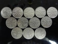 Canadian 5 cent Collection 1922-2000 Complete with 1925, 1926 Near, 1926 Far .