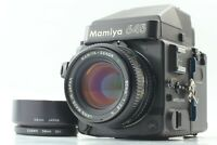 [NEAR MINT] MAMIYA M645 Super AE Finder + Sekor C 80mm F/2.8 N Lens from JAPAN