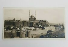 antica Cartolina Postale POST CARD EGYPT IL CAIRO THE CITADEL Perfetta rara 900