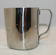 """Breville Cafe Roma Coffee Stainless Steel Creamer Pitcher Jug 9.0 cm 3.5"""" Tall"""