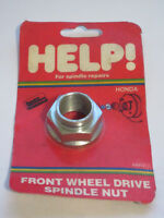 Help 04972 Spindle Nut - For 79-18 Honda - M22-1.5 32mm hex 615-091 1030504