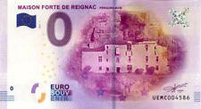 24 TURSAc Maison forte de Reignac, 2017, Billet 0 € Souvenir