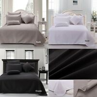 Ardor Premium 100% Cotton Waffle Blanket Single / Double Queen / King  3 Colours