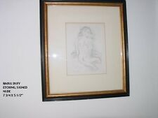 "RAOUL DUFY, ""NUDE"", ORIGINAL ETCHING, SIGNED BY ARTIST, 7 3/4""  X  5 1/2"""