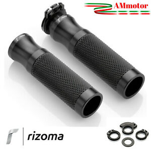 Manopole Rizoma Moto Yamaha Fz1 Sport Coppia Nere Alluminio Gomma