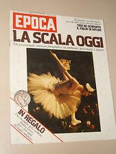 EPOCA=1977/1418=CARLA FRACCI TEATRO SCALA=LUIS BUNUEL=EMILIO GRECO=MASER WERNER