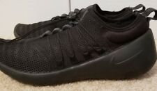 $130 Nike Slip On Trainer Running Shoes Solid Black Size 11.5