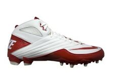 MENS Nike Super Speed TD 3/4 396254 Football Cleats RED WHITE SIZE 16 Za/72