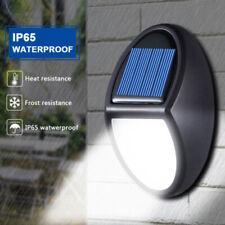 LED Solar Waterproof Powered Light Outdoor Garden Wall Light Security Lamp