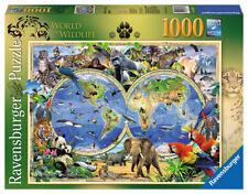 Maps Cardboard 1000 - 1999 Pieces Jigsaws & Puzzles