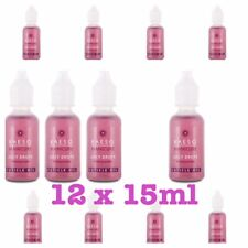 Kaeso Juicy Drops Cuticle Oil Moisture and Re-Hydrate Dry Damaged Nails 15ml x12