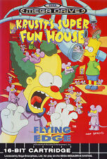 # Krusty 's Super Fun House-Sega Mega Drive/MD juego-Top #