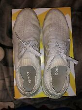 Adidas Ultra Boost Uncaged 'Triple White' Running Shoes - BB0773 - Men Size 11.5