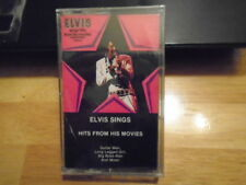 SEALED RARE OOP Elvis Presley CASSETTE TAPE Sings Hits From His Movies CLAMBAKE
