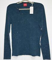 GUESS Langarm Shirt   Größe M  Blau   Neu mit Etikett