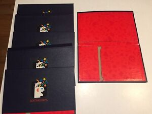 Scattergories 1988 Board Game Replacement Pieces - 6 folders