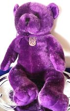LIMITED TOO 02 PURPLE TEDDY BEAR - PLUSH STUFFED ANIMAL TOY - NEW - 18""