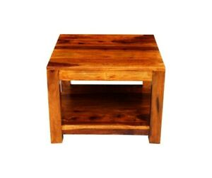 Boston Contemporary Solid Wooden Coffee Table (MADE TO ORDER)