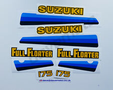 .SUZUKI PE175Z 1982 STICKER KIT DECAL KIT Enduro Twinshock Motocross Classic
