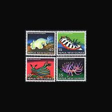 PAPUA NEW GUINEA, Sc #482-85, MNH, 1978, Sea Slugs, Marine life, AAIAS8Z-B