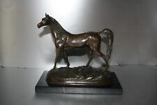 Bronze Pferd sehr tolles Stück schöne Patina