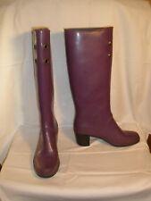 Marc Jacobs Purple Rubber Rain Boots Wellies Size 8 US / 39  Melting Snow Slush