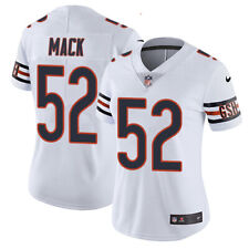 Chicago Bears Khalil Mack Jersey White Stitched Name & Numbers Large