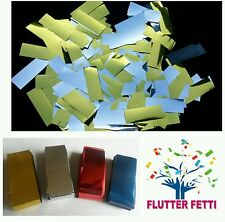 1 kilo bag loose Metallic Flutter Fetti slowfall Confetti for party celebration