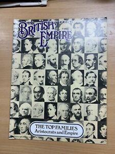 "1973 ""THE BRITISH EMPIRE"" BBC MAGAZINE - #63 - THE TOP FAMILIES ARISTOCRATS (P2)"