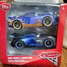 Disney Store Pixar Cars 3 Twin Pack Jackson Storm & Daniel Swervez (1:43 Scale)