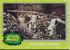 Star Wars JTTFA Green Parallel Base Card #34 The garbage compactor