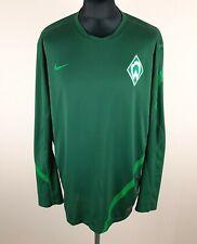 Werder Bremen 2011 NIKE Training Long Sleeve Home Soccer Jersey Men's Size 2XL