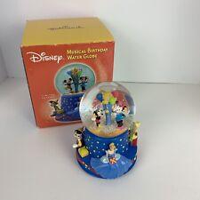 HALLMARK Walt Disney Musical 100th Birthday Water Globe Limited Edition