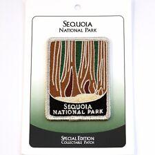 Sequoia National Park Souvenir Patch Traveler Series Iron-on California