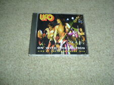UFO - ON WITH THE ACTION - LIVE 1976 - CD ALBUM - MEGA RARE - MICHAEL SCHENKER