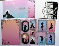 Kanban Dancing Silhouettes Card Kit A Toppers Inserts Paper Strictly