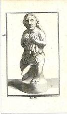 1780 ERCOLANO Antiquités d'Herculanum nano itifallico moriones erotismo David