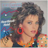 "C. C. Catch - Heartbreak Hotel / You Shot A .. - 7"" Single - Coverhülle SIGNIERT"