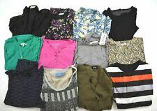Wholesale Bulk Lot of 12 Womens XL Business Casual Long Sleeve Shirts Blouses