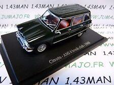 voiture 1/43 atlas CITROËN NOREV  : AMI 6 Break Club 1968