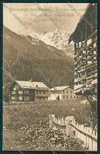 Verbania Macugnaga Monte Rosa cartolina QQ5462