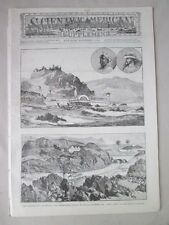 Vintage Print,SCIENTIFIC AMERICAN SUPPLEMENT,Dec 6 1884,English Nile Expedition