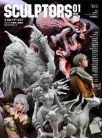 'NEW' SCULPTORS01 | JAPAN Anime Figure 3D Models Sculpting Visual Book Art